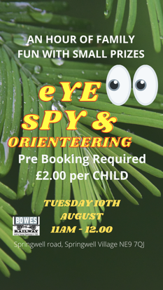 Picture of EYE SPY & Orienteering Trail with small prizes