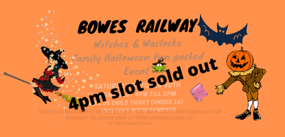 Picture of 4pm SLOT SOLD OUT    HALLOWEEN  Witches & Warlocks CHILD TICKET This is   4 pm - 5pm Time slot