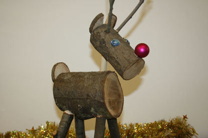 Picture of Christmas Reindeer SMALL