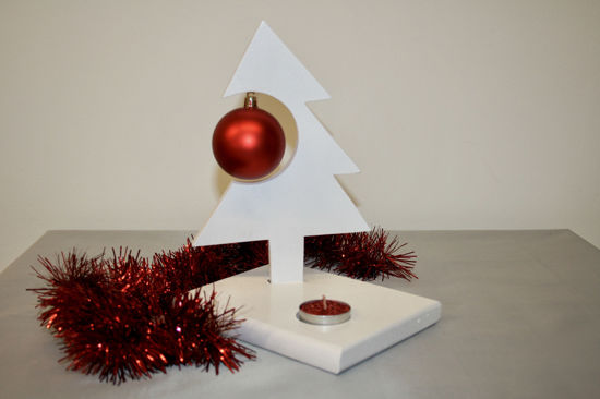 Picture of Swedish Style Christmas Tree SMALL