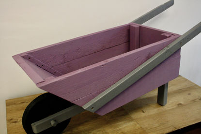 Picture of Wheel Barrow Flower Planter