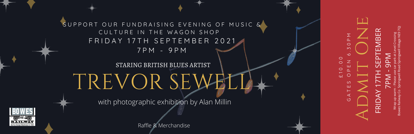 Picture of An evening of heritage & culture starring Blues artist TREVOR SEWELL